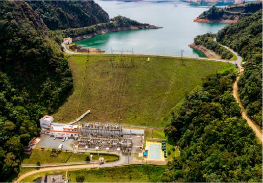 Central hidroeléctrica Calima