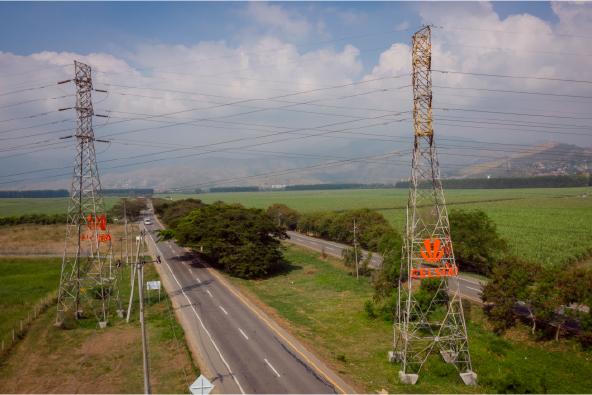 Redes que transportan buena energía en el Valle