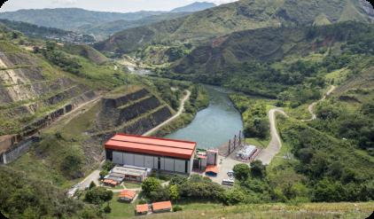 Central hidroeléctrica Salvajina