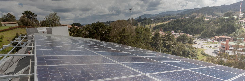 Energía solar para la región