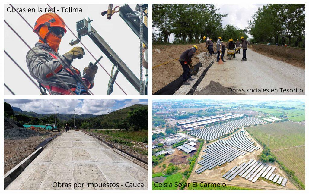 Celsia invirtió $293 mil millones en energías renovables, fortalecimiento de su red y expansión para beneficio de sus clientes