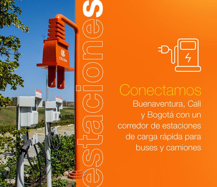 ¡Estamos conectando tres importantes ciudades con un corredor de estaciones de carga!