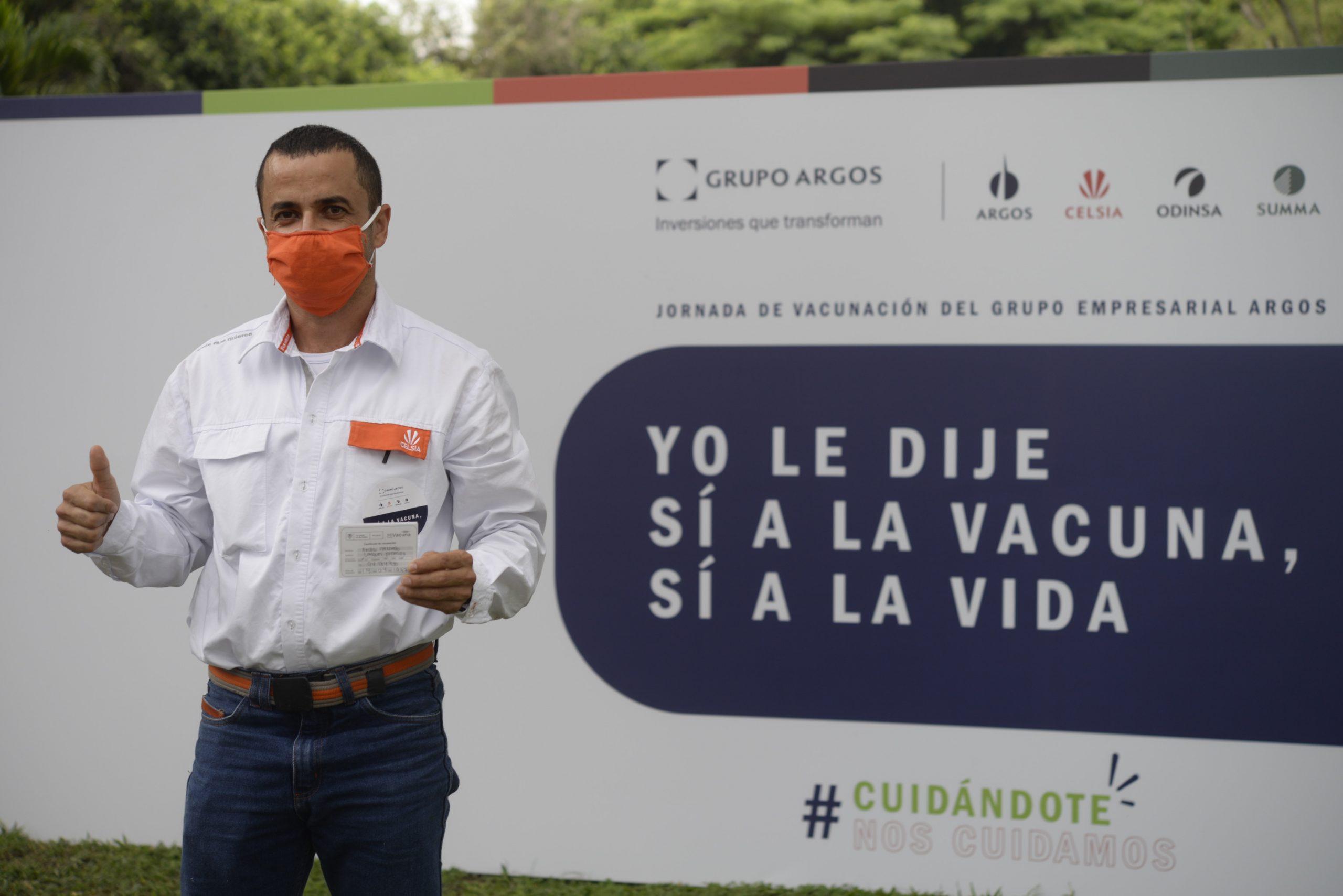 Celsia inicia vacunación de sus colaboradores en el Tolima, gracias al esfuerzo con Grupo Argos, la Andi y el Gobierno Nacional