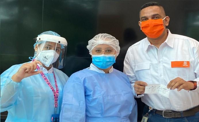Celsia inicia vacunación de sus colaboradores en Colombia, gracias al esfuerzo mancomunado con Grupo Argos, la Andi y el Gobierno Nacional