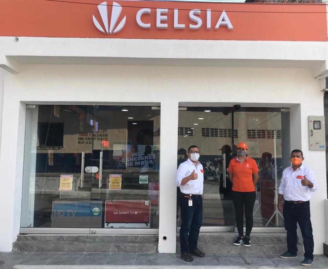 Tienda Celsia en Lérida en Tolima se renueva para brindar atención permanente y estrena nuevos servicios
